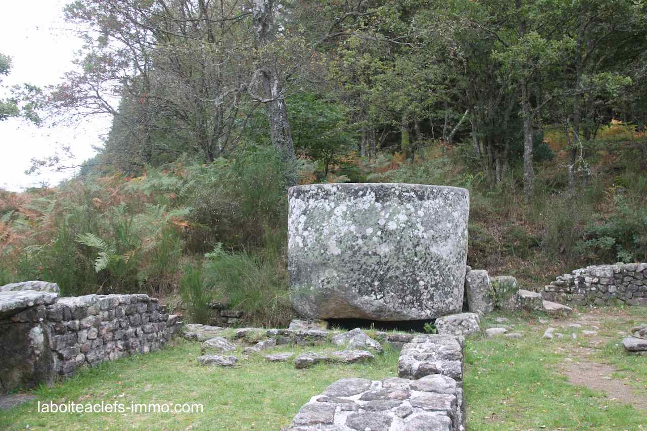 les ruines gallo romaines des Cars en Corrèze