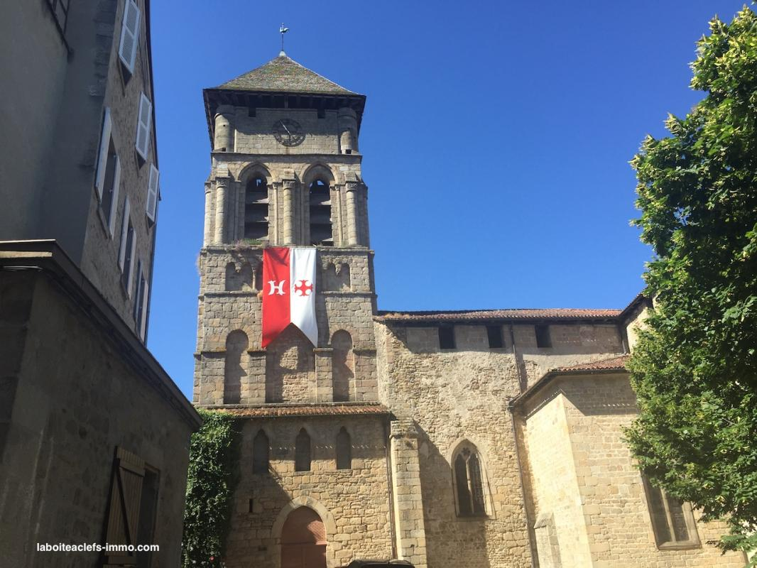 Collegiale eymoutiers