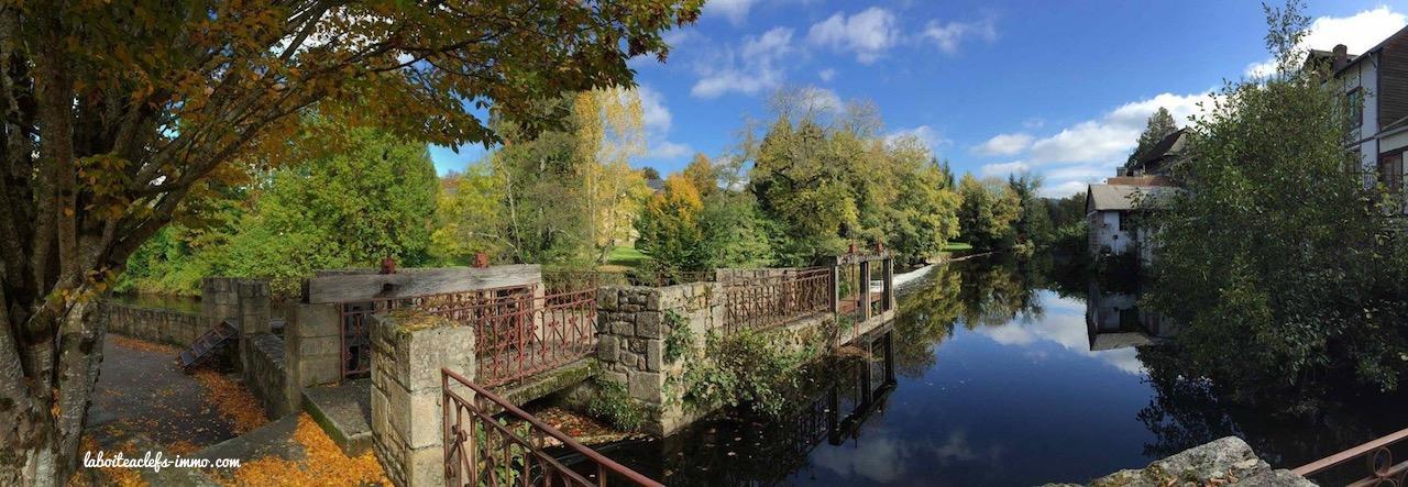 Eymoutiers en automne