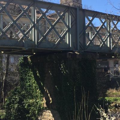 le pont de fer Eymoutiers