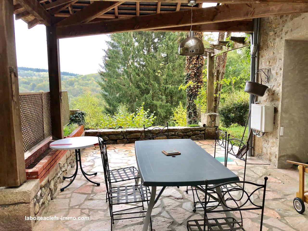 terrasse Creuse