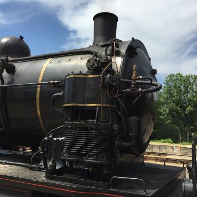 train à vapeur Eymoutiers