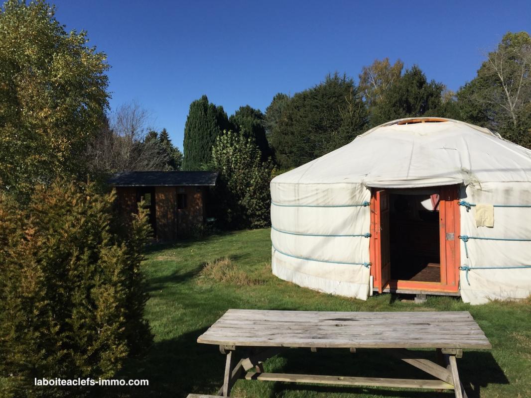 yourte en Creuse en Limousin