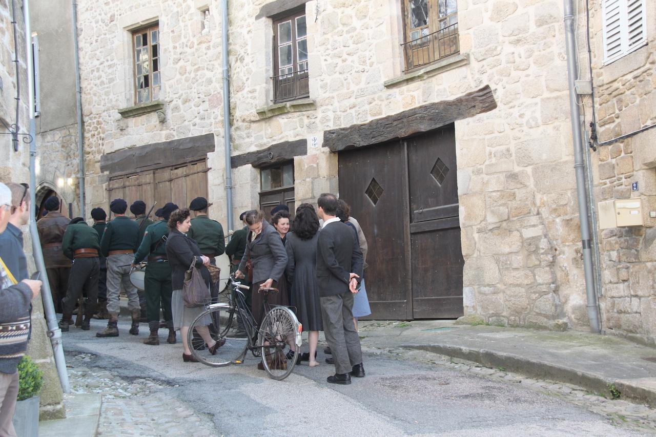 téléfilm un village français Eymoutiers